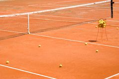 Clay Tennis Court Stock Photos