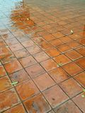 Clay Tile Flooring Images stock