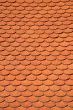 Clay tile roof Stock Image