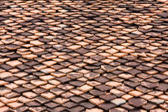Clay tiles Stock Photography