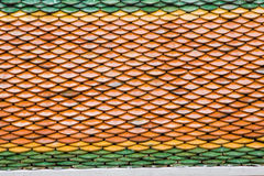 Clay tiles Royalty Free Stock Image