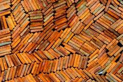 Clay Tiles Imagem de Stock Royalty Free