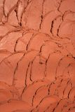 Clay tiles pattern Stock Image