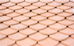 Clay tiles roof Stock Photography