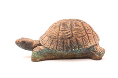 Clay tortoise Stock Photo