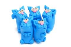 Clay toys Stock Photography
