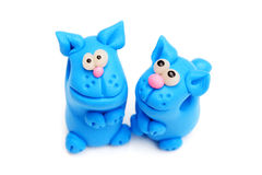 Clay toys Stock Image
