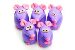 Clay toys Stock Photo