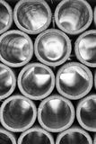 Clay tubes Royalty Free Stock Images