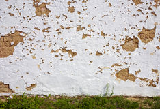 Clay wall background Stock Photo