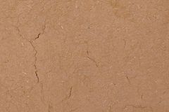 Clay wall. Brown wallpaper. Texture can use as a background. Closeup clay wall. Clay surface royalty free stock photos