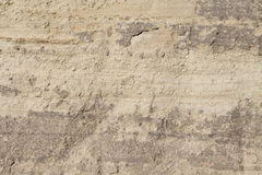 Clay wall texture Stock Image