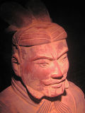 CLAY WARRIOR IN ANCIENT CHINESE PHANTOM ARMY royalty free stock photography