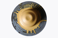 Clay on wheel Stock Image