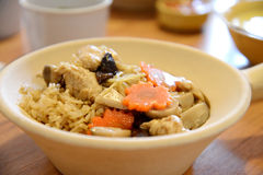 Claypot rice Stock Images