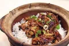 Claypot rice Stock Photos