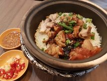 Claypot Rice stock image
