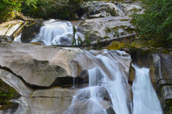 Clayton Falls, Bella Coola, Ingleses Colômbia, Canadá Imagens de Stock Royalty Free