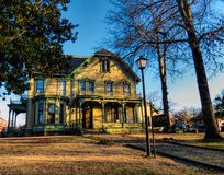 Clayton House histórico en Fort Smith, Arkansas Foto de archivo