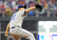 Clayton Kershaw Foto de Stock