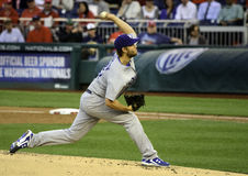 Clayton Kershaw, L a Dodgers, le 6 mai 2014 Photo libre de droits