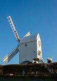 CLAYTON, SUSSEX/UK EST - 3 JANVIER : Jill Windmill sur un ` d'hiver Photo libre de droits