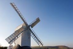 CLAYTON, SUSSEX/UK EST - 3 JANVIER : Jill Windmill sur un winter Photo stock