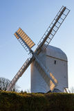 CLAYTON, SUSSEX/UK EST - 3 JANVIER : Jill Windmill sur un winter Photos stock
