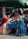 Célébration vénitienne Image libre de droits