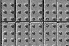 Cle de pavimentación concreto para arriba Fotos de archivo