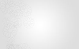 Clean Abstract Artistic Background White Royalty Free Stock Image