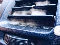 Clean the air of the car stock photos