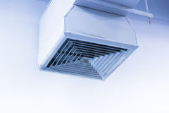 Clean Air Duct with color tone Stock Photos