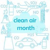 Clean air month Stock Photos