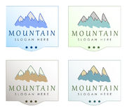 Clean Air and Water Logo Designs Stock Image