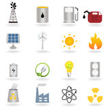 Clean alternative energy and environment Stock Photography