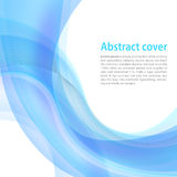 Clean background with light blue gradient and blend. Business st Royalty Free Stock Photos