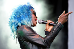 Clean Bandit (British electronic group) at Primavera Pop Festival Stock Photo
