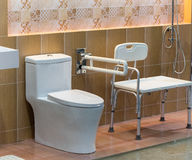 Clean bathroom hygienic. Hygienic house in clean bathroom Stock Photos
