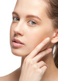 Clean Beauty Stock Photo