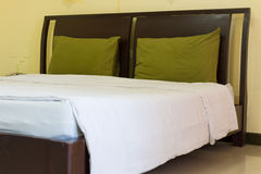 Clean bed Stock Images
