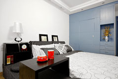 Clean bedroom Stock Images