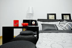 Clean bedroom Royalty Free Stock Photo