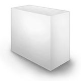 Clean Blank Box stock illustration