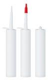 Clean blank sealant tube Stock Image