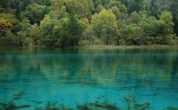 Clean blue lake Stock Image