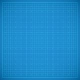 Clean blueprint background. Abstract technological background. Vector illustration Royalty Free Stock Photography