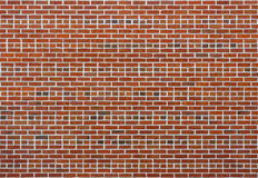 Clean brick wall texture Stock Photography