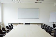 Clean conference room Stock Photography