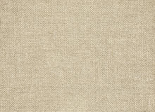 Clean brown burlap texture. Woven fabric Royalty Free Stock Photos